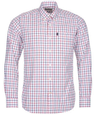 Men's Barbour Henry Tailored Fit Shirt - White