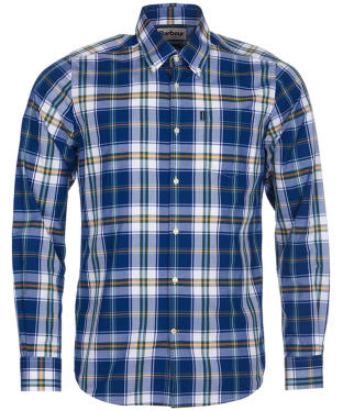 Men's Barbour Highland 4 Tailored Shirt - Deep Blue Check