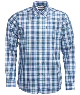 Men's Barbour Highland 3 Tailored Shirt - Green Check