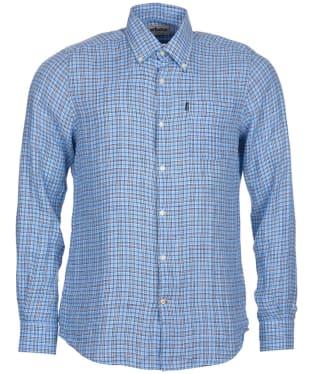 Men's Barbour Felix Tailored Fit Shirt - Blue Check