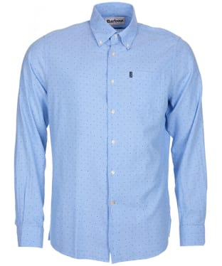Men's Barbour Owen Shirt - Blue