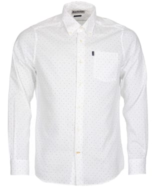Men's Barbour Owen Shirt - White
