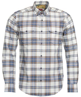 Men's Barbour Steve McQueen Rebel Shirt - Pearl Check