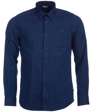 Men's Barbour International Harris Shirt - Navy