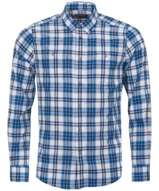 Men's Barbour International Wrench Shirt - Neutral Check