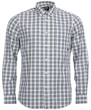 Men's Barbour International Axis Shirt - White Check