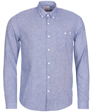 Men's Barbour Lintern Shirt - Navy
