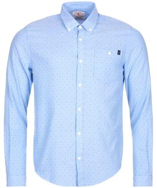 Men's Barbour Brun Shirt - Blue