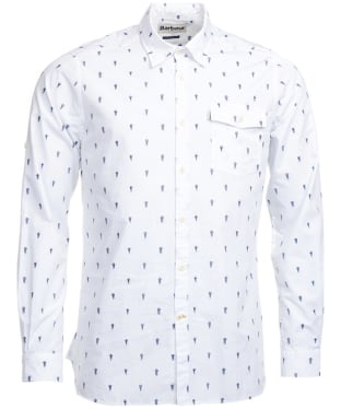 Men's Barbour Jellyfish Shirt - White