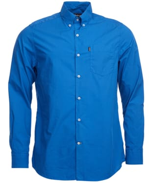 Men's Barbour Spencer Tailored Fit Shirt - Monaco Blue