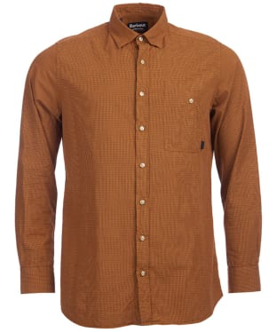 Men's Barbour International Fret Shirt - Copper