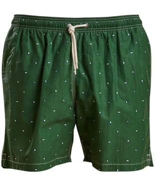 Men's Barbour Flag Swim Shorts - Racing Green