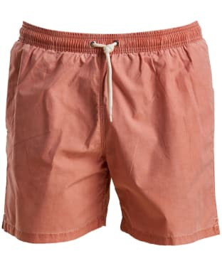 Men's Barbour Victor Swim Shorts - Burnt Orange