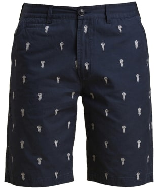 Men's Barbour Jellyfish Emb Shorts - Navy