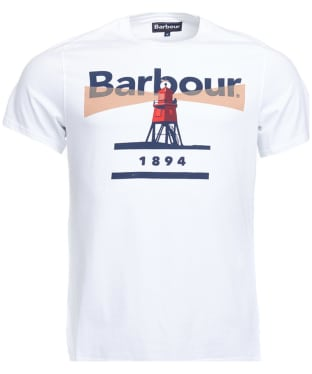 Men's Barbour Beacon 94 Tee - White