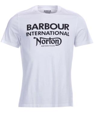 Men's Barbour International Norton Logo Tee