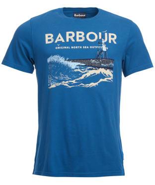 Men's Barbour Tetra Tee - Deep Blue
