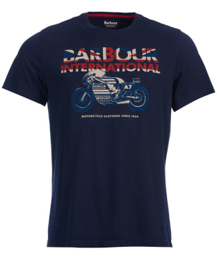 Men's Barbour International Union Racer Tee