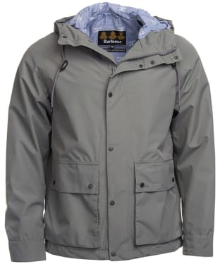 Men's Barbour Twine Waterproof Jacket - Grey