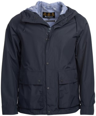 Men's Barbour Twine Waterproof Jacket - Navy