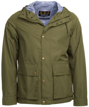Men's Barbour Twine Waterproof Jacket - Olive