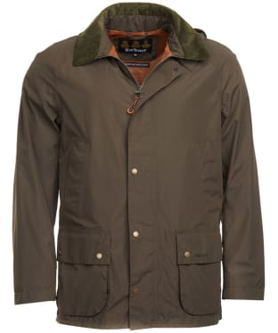 Men's Barbour Bann Waterproof Jacket - Olive