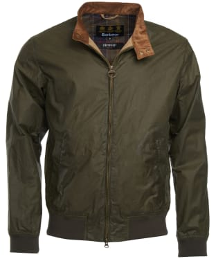 Men's Barbour Lightweight Royston Jacket - Archive Olive