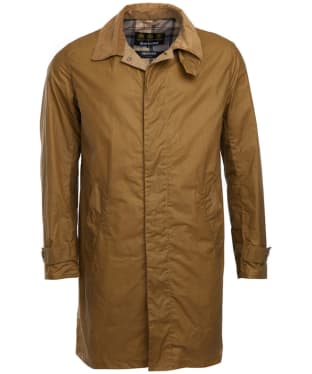 Men's Barbour Lightweight Harrier Waxed Jacket - Sand