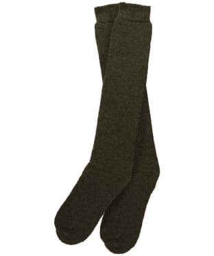 Men's Barbour Wellington Socks (knee length) - Olive