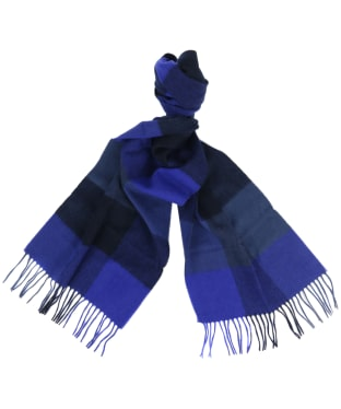 Women's Barbour Wilton Scarf - Navy / Blue