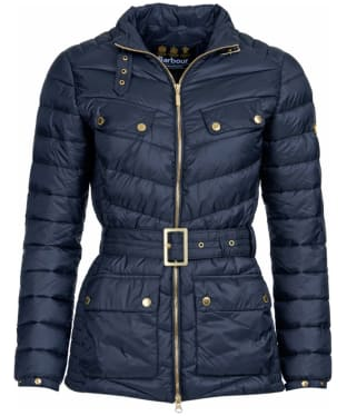 Women's Barbour International Gleann Quilt - Navy