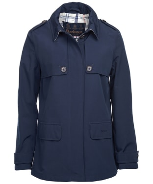 Women's Barbour Glenrothes Waterproof Jacket - Navy