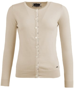Women's Barbour Hamerley Cardigan - Pearl