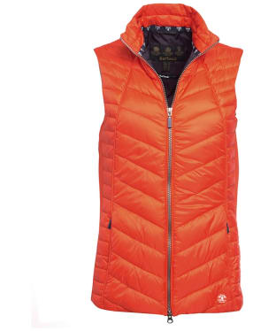 Women's Barbour Penhale Gilet - Signal Orange