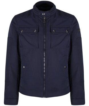 Men's Hackett Moto Blouson - Navy