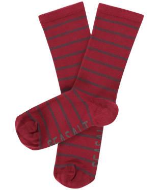 Women's Seasalt Sailor Socks - Breton Charm Hellebore