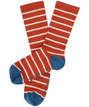 Women's Seasalt Sailor Socks - Breton Tomato