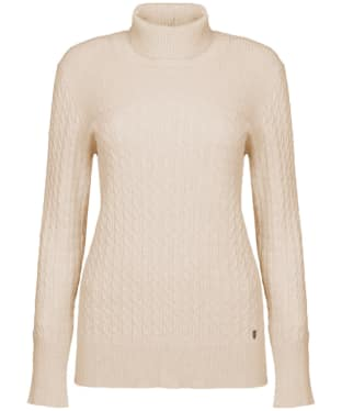 Women's Dubarry Boylan Polo Neck Sweater - Oyster