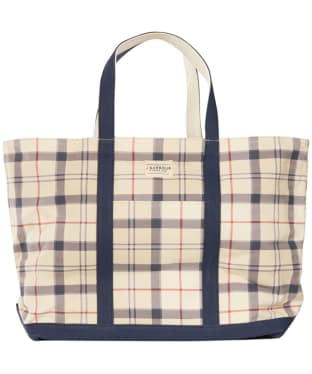 Womens Barbour Kirkwall Tote Bag - Summer Tartan