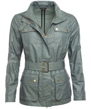 Women's Barbour International Bearings Casual Jacket - Light Khaki