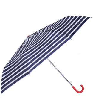Women's Barbour Coastal Stripe Umbrella - Blue