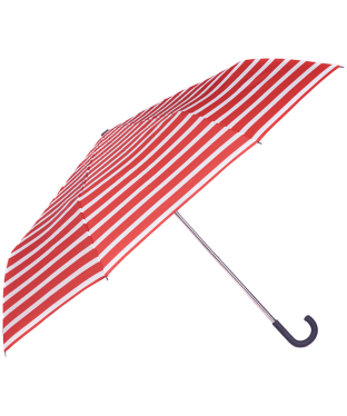 Women's Barbour Coastal Stripe Umbrella - Red