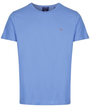 Men's GANT Solid T-Shirt - Pacific Blue