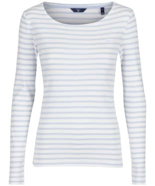 Women's GANT Striped Ribbed Top