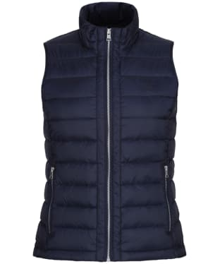 Women's GANT Lightweight Down Vest - Evening Blue
