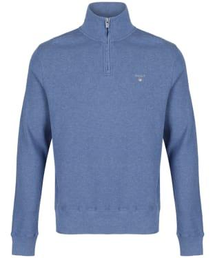 Men's GANT Honeycomb Half Zip Sweater