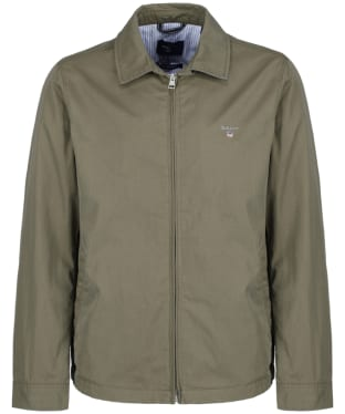 Men's GANT The Windcheater Jacket - Kalamata Green