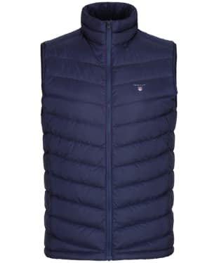 Men's GANT The Airie Down Vest - Classic Blue