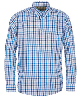 Men's Barbour Fell Performance Shirt - Blue