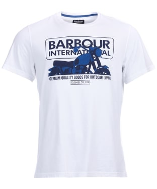 Mens Barbour International Hydron Tee